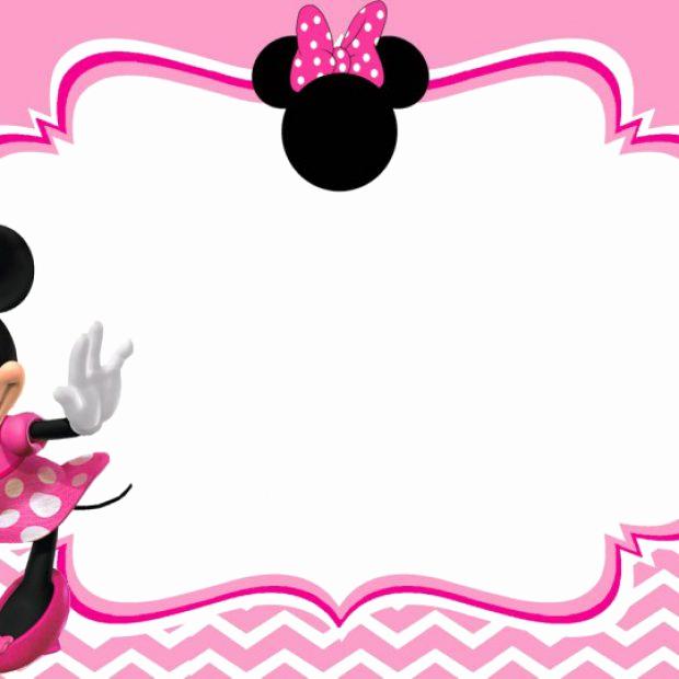 Minnie Mouse Invitation Template Fresh Free Minnie Mouse Invitation Templates