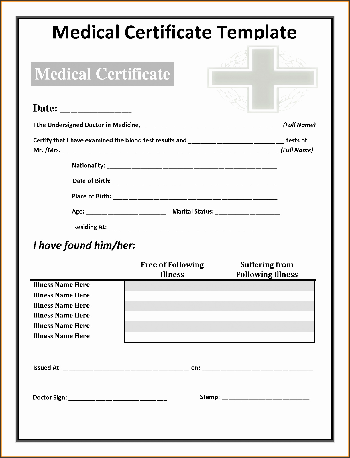 Minute Clinic Doctors Note Lovely 10 Doctors Notes Templates Sampletemplatess