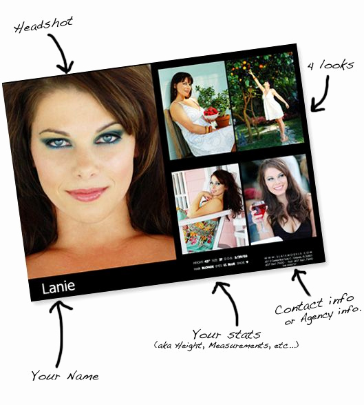 Model Comp Card Template Inspirational 22 Best Model & P Cards Images On Pinterest