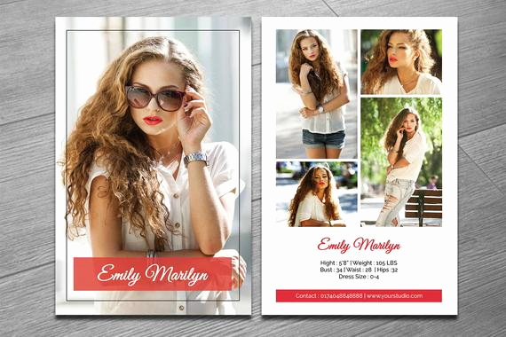 Model Comp Card Template Inspirational Modeling P Card Template Fashion Model P Card Ms
