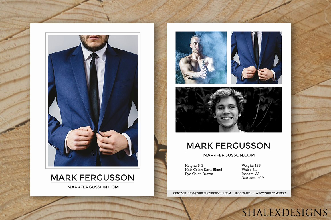 Model Comp Card Template Lovely Male Modeling P Card Template Card Templates