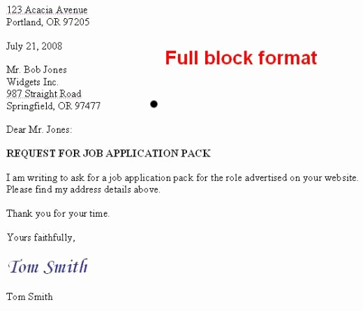 Modified Block Letter format Inspirational How to format A Us Business Letter