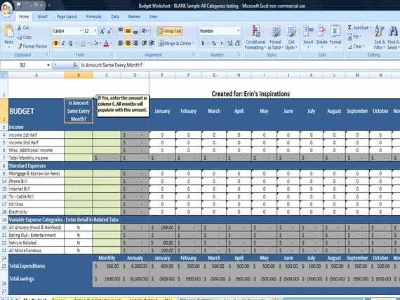 Monthly Budget Template Excel Beautiful Monthly Bud Spreadsheet Home Finance by Timesavingtemplates