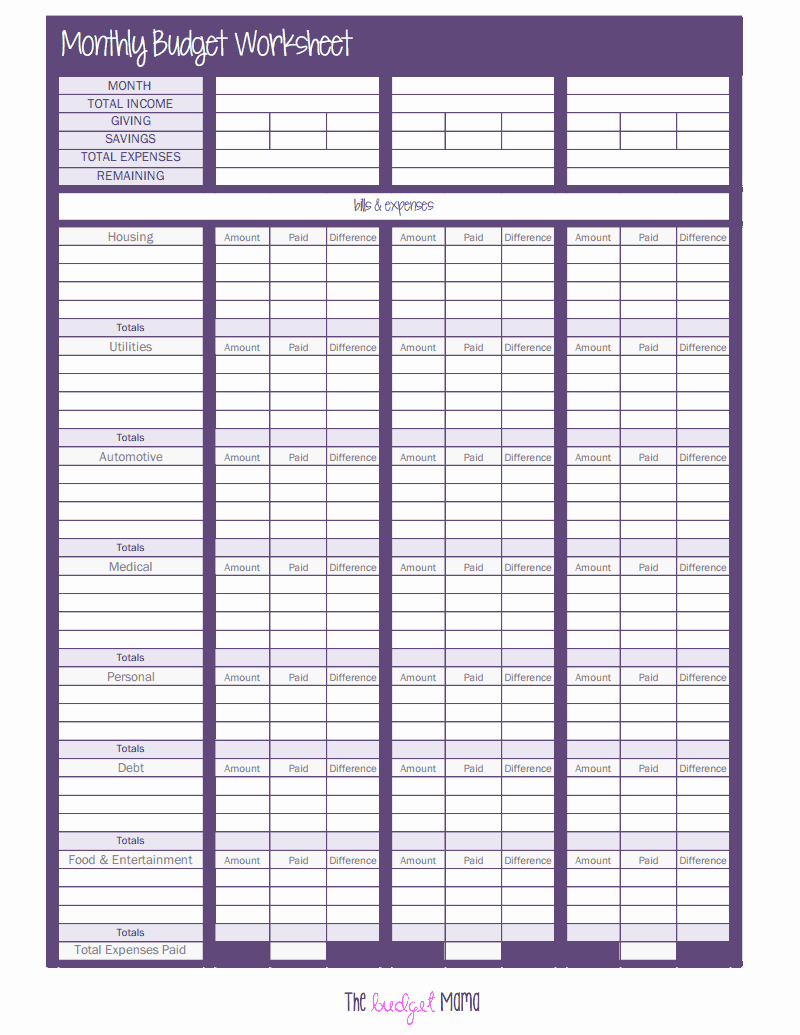 Monthly Budget Worksheet Pdf Inspirational the Monthly Bud Worksheet Pdf Google Drive
