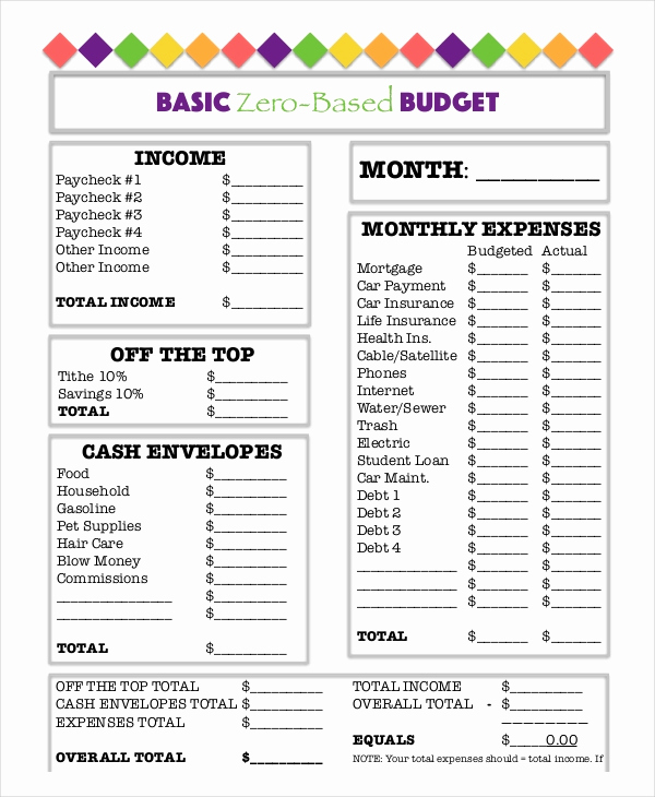 Monthly Budget Worksheet Pdf Unique Printable Bud Worksheet 20 Free Word Excel Pdf