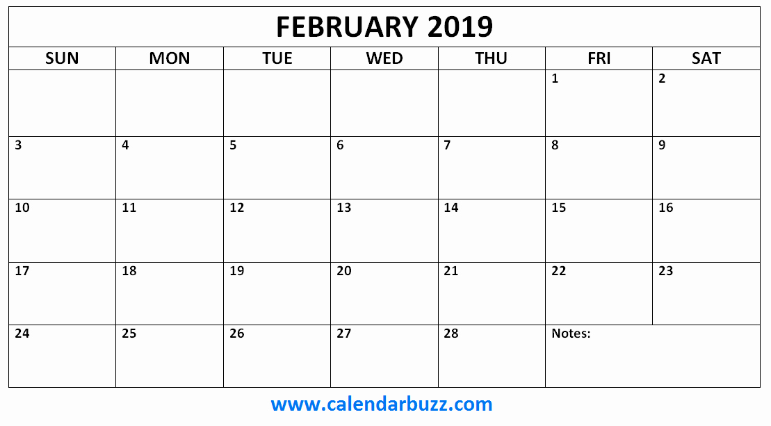 Monthly Calendar Template 2019 Luxury Free 2019 Printable Calendar Monthly Templates