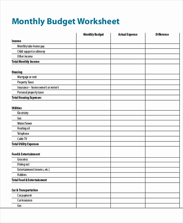 Monthly Expense Report Template Fresh 32 Expense Report Samples Word Pdf Docs