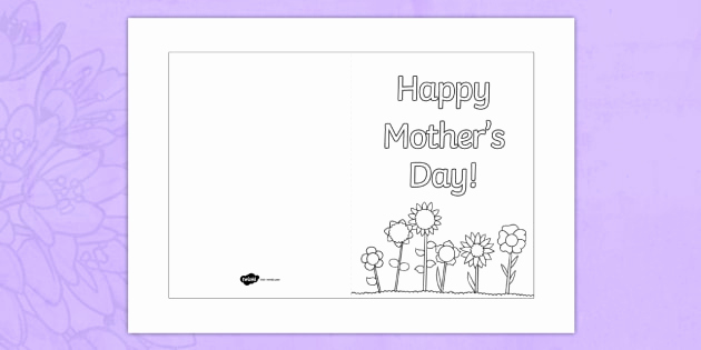 t t 705 mothers day card templates colouring