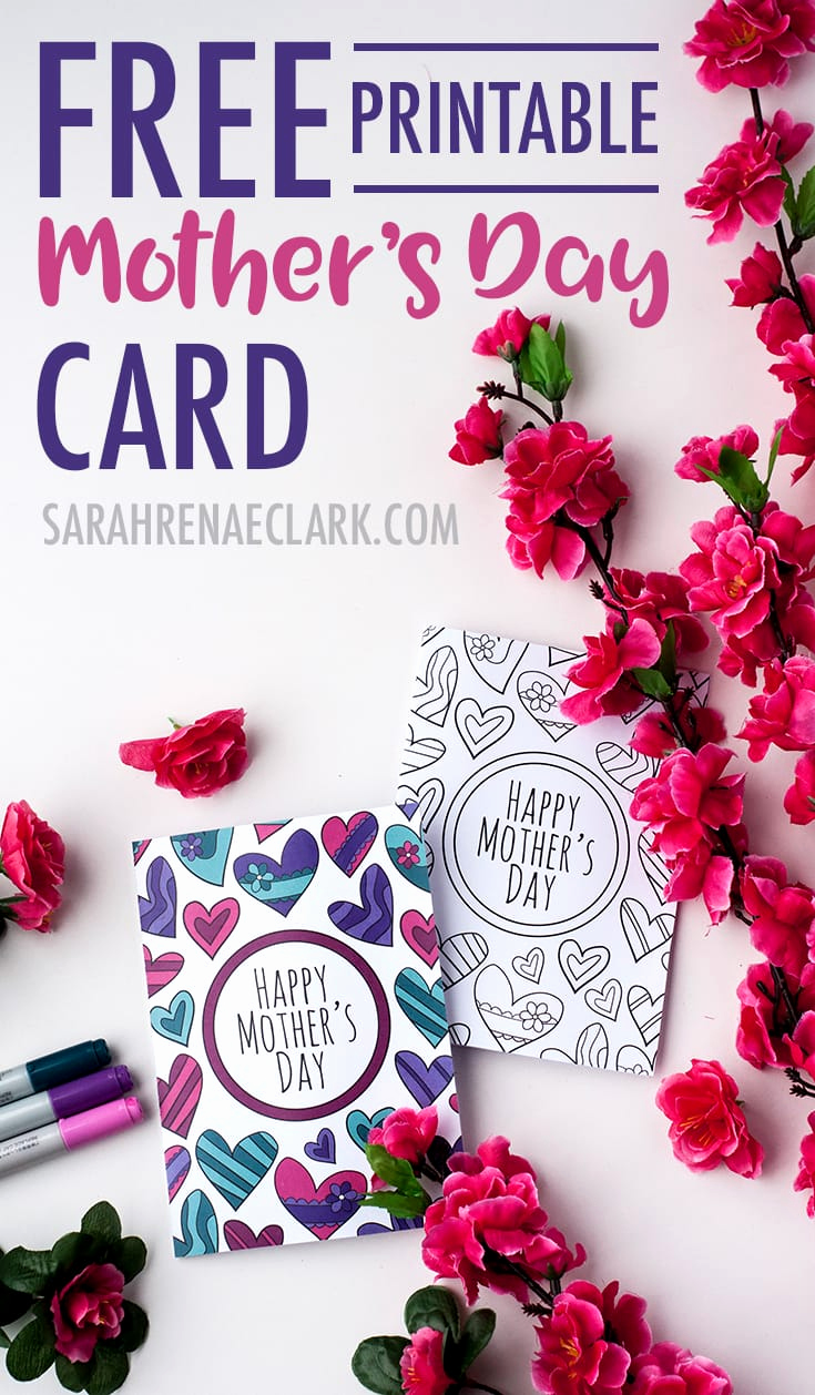 Mothers Day Card Template Lovely Free Mother S Day Card