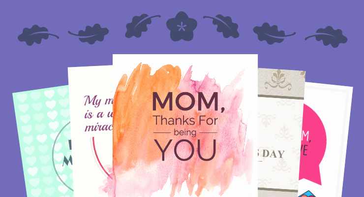 Mothers Day Card Template Luxury Venngage Free Infographic Maker
