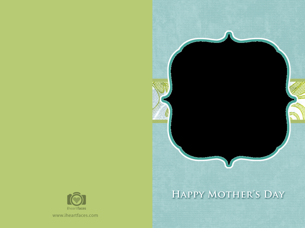 Mothers Day Card Template New Free Mother S Day Card Templates — Iheartfaces