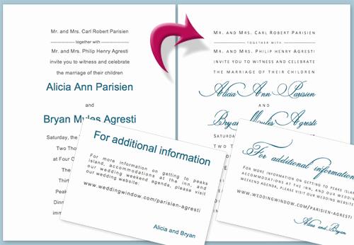 Ms Word Invitation Templates Unique Diy Wedding Invitation Tutorial Using Microsoft Word