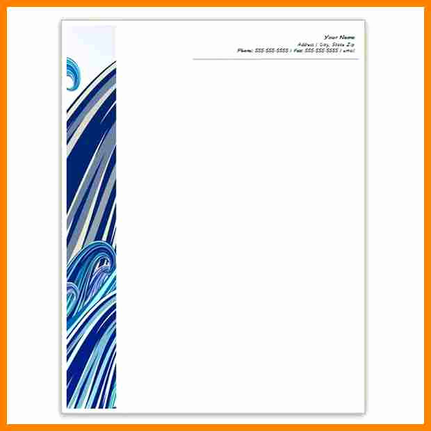 Ms Word Letter Templates Beautiful 10 Letterhead Templates Word 2010
