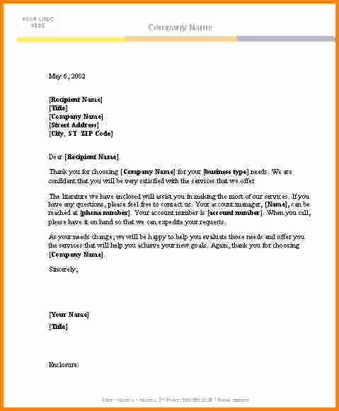 Ms Word Letter Templates Beautiful 7 Microsoft Word Letter Template