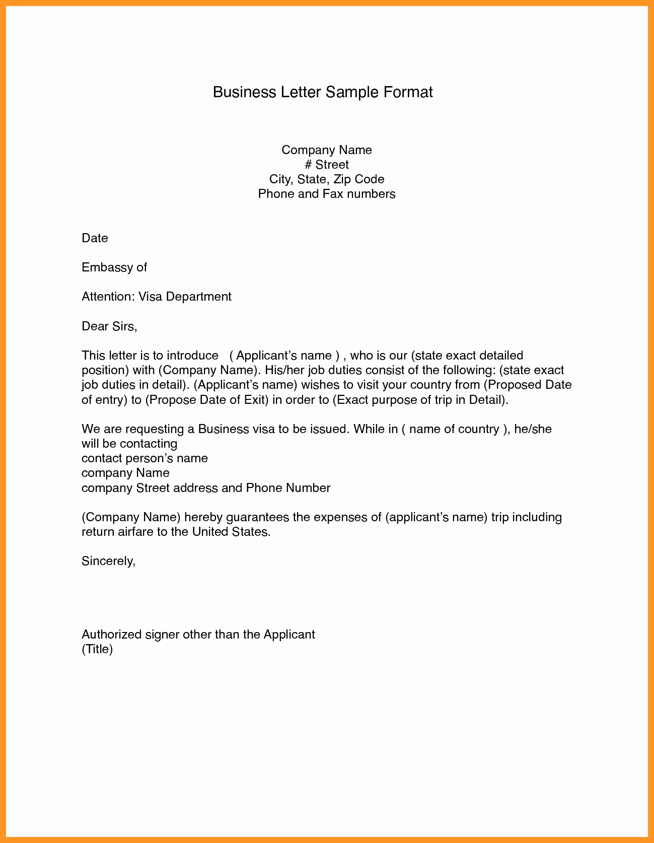 Ms Word Letter Templates Inspirational Business Letter format Template Word