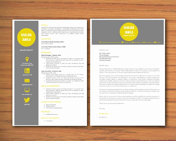 Ms Word Letter Templates Luxury Modern Microsoft Word Resume and Cover Letter Template