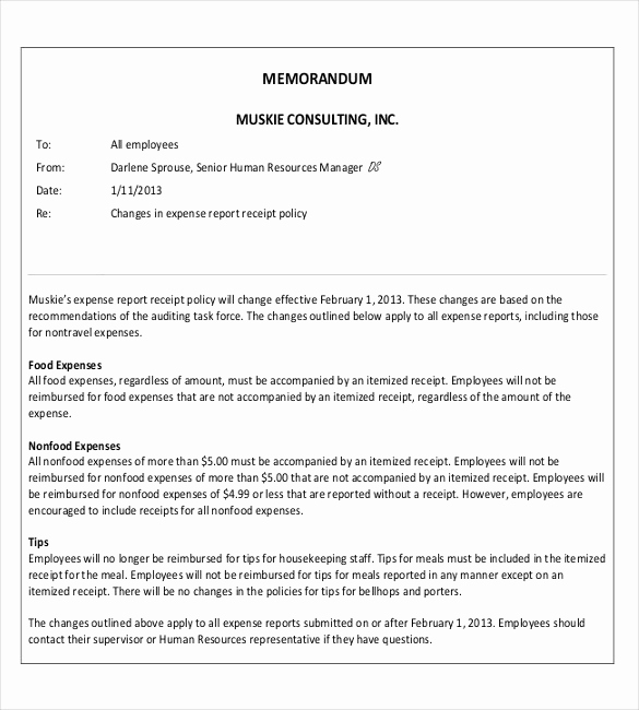 Ms Word Memo Templates Fresh Professional Memo Template – 15 Word Pdf Google Docs