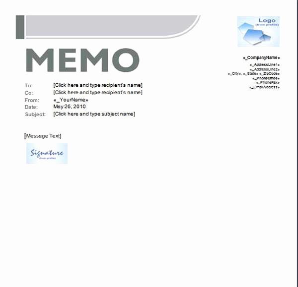 Ms Word Memo Templates Unique Credit Memo Template Microsoft Word Templates