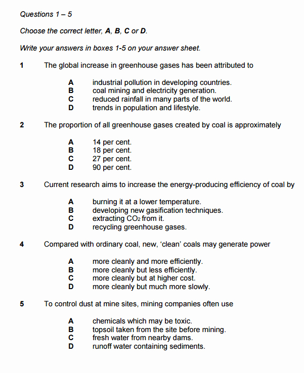 Multiple Choice Test Template Awesome Multiple Choice Questions In Ielts Reading Ielts Advantage