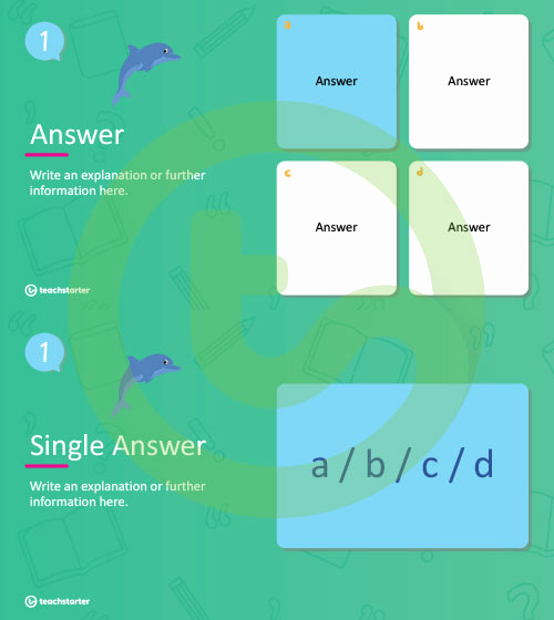 Multiple Choice Test Template Lovely Multiple Choice Literacy Quiz Powerpoint Template