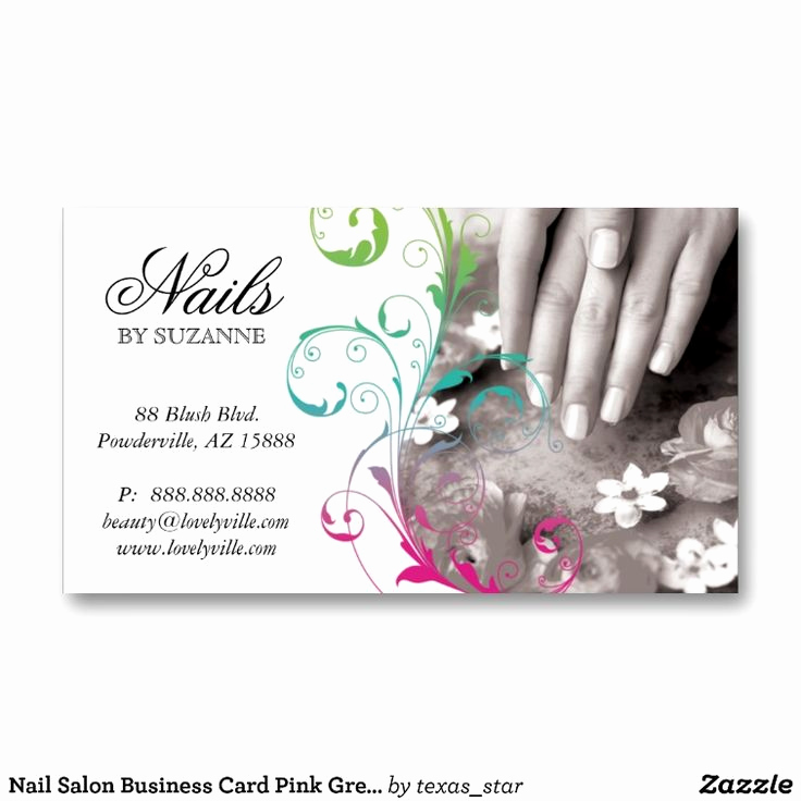 Nail Salon Business Cards New Best 25 Nail Salon Names Ideas On Pinterest