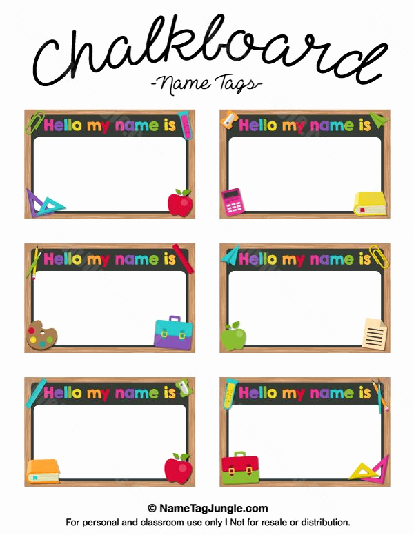 Name Tag Template Free Awesome Best 25 Printable Name Tags Ideas On Pinterest