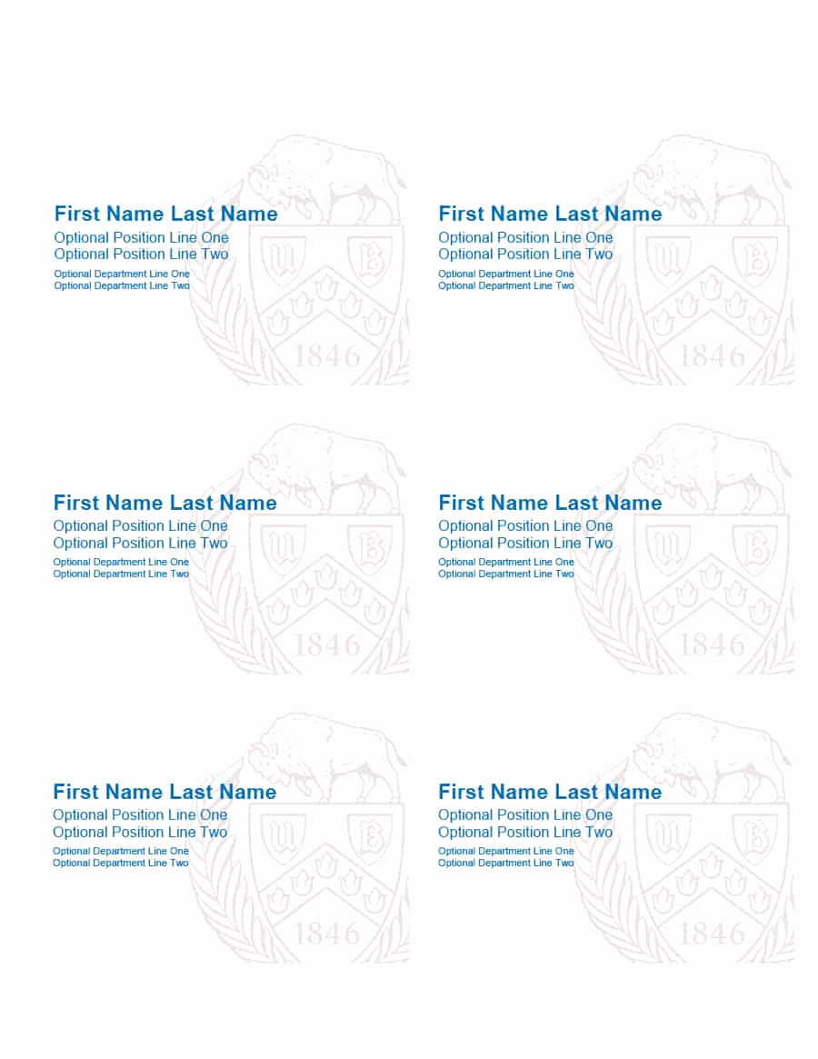 Name Tag Template Free Best Of 47 Free Name Tag Badge Templates Template Lab