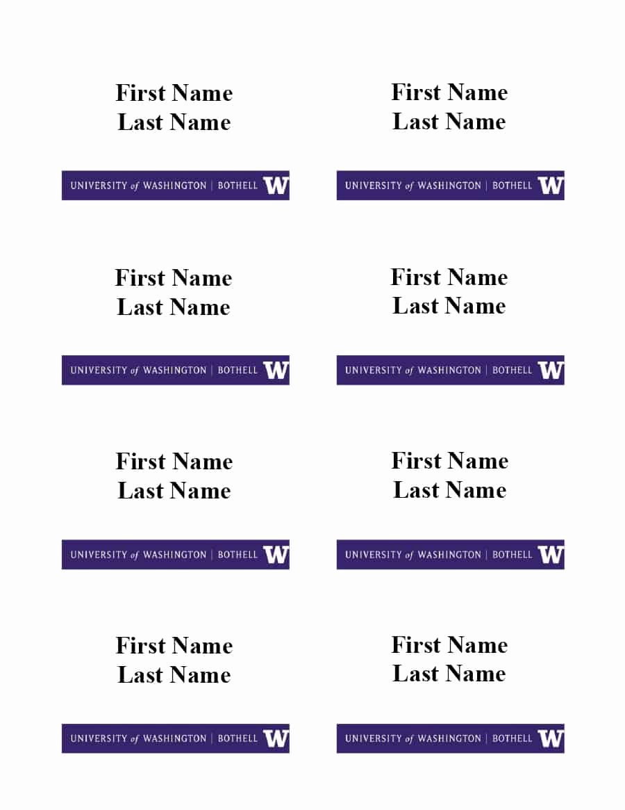 Name Tag Template Free Fresh 47 Free Name Tag Badge Templates Template Lab
