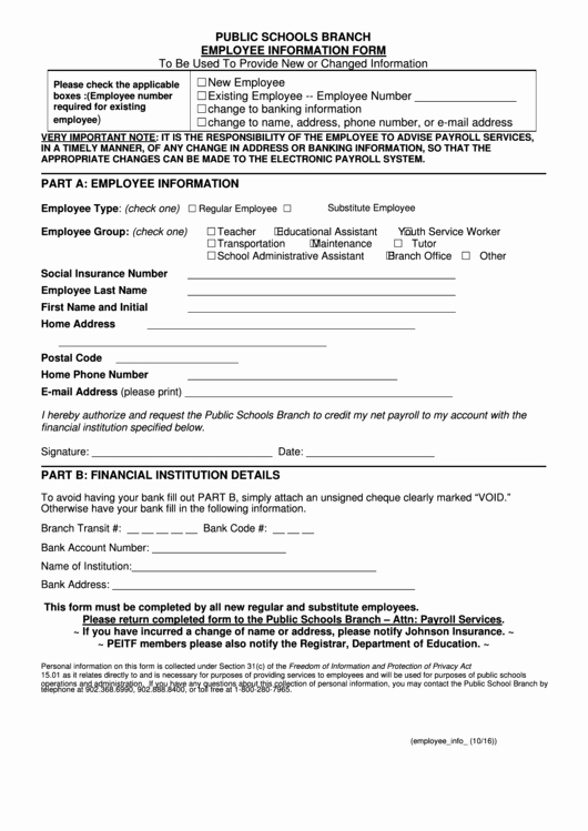 New Employee Information form Unique top 15 New Employee Information form Templates Free to