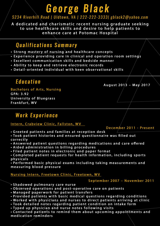 New Graduate Nurse Resume Examples Inspirational New Grad Nursing Resume [sample Tips