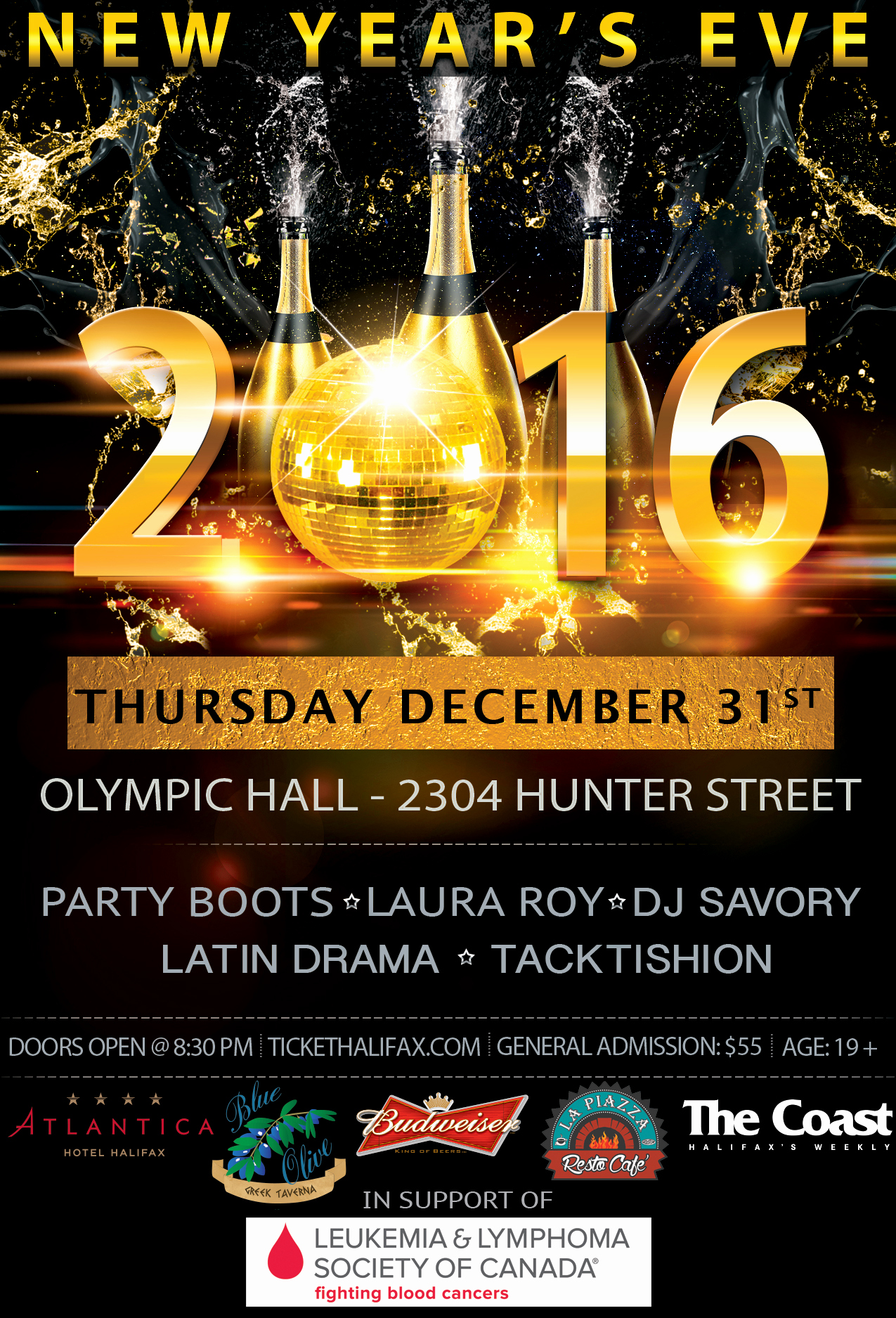 New Years Eve Flyer Awesome New Year S Eve 2016 Party Boots Dj Savoury & Special