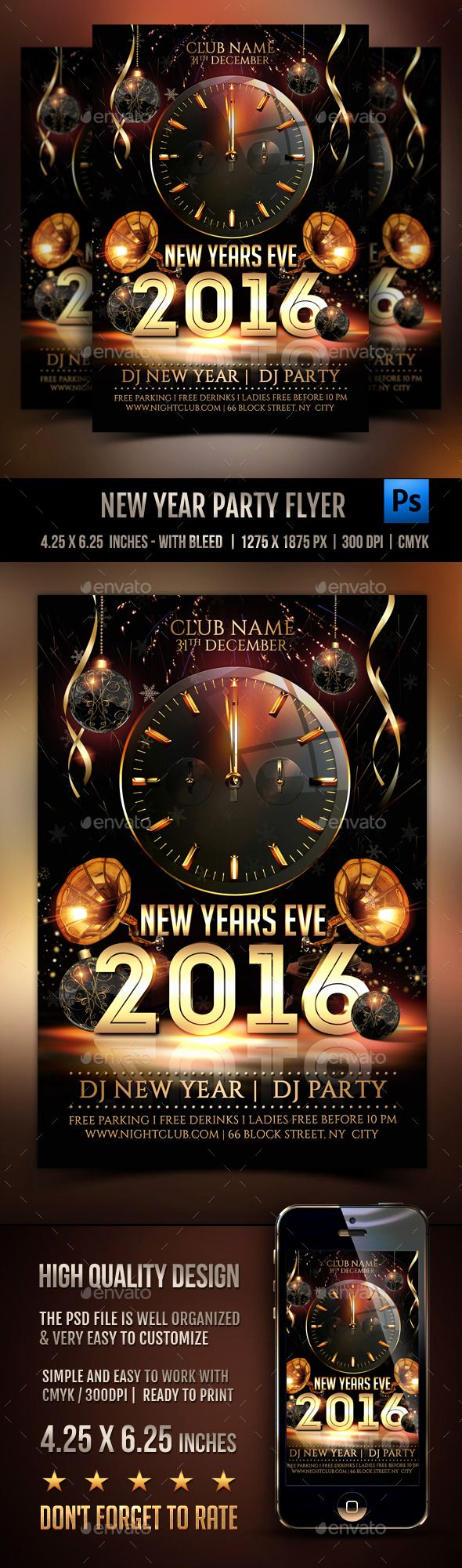 New Years Eve Flyer Beautiful 17 Best Images About New Years Eve On Pinterest