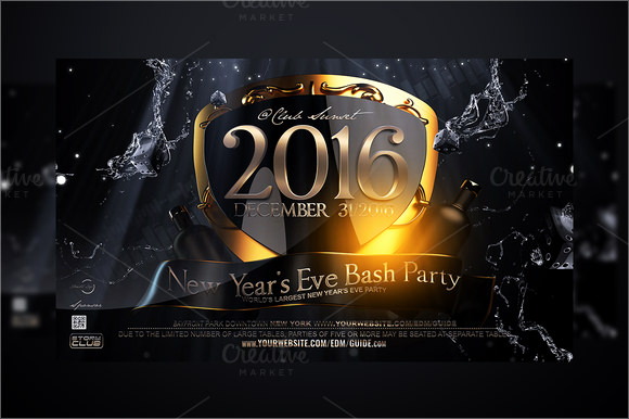 New Years Eve Flyer Luxury New Year Party Flyer Template 34 Download Documents In