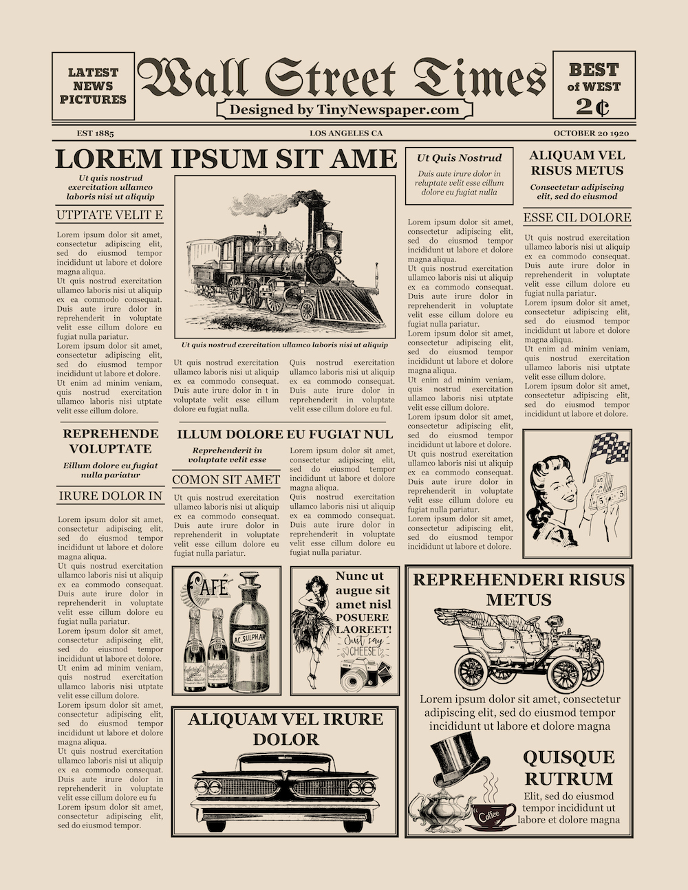 Newspaper Template for Google Docs Best Of Old Newspaper Template Word