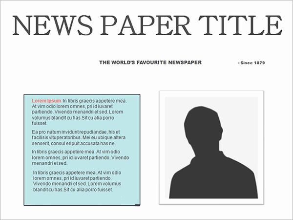 Newspaper Template for Google Docs Elegant Newspaper Template 19 Download Free Documents In Pdf