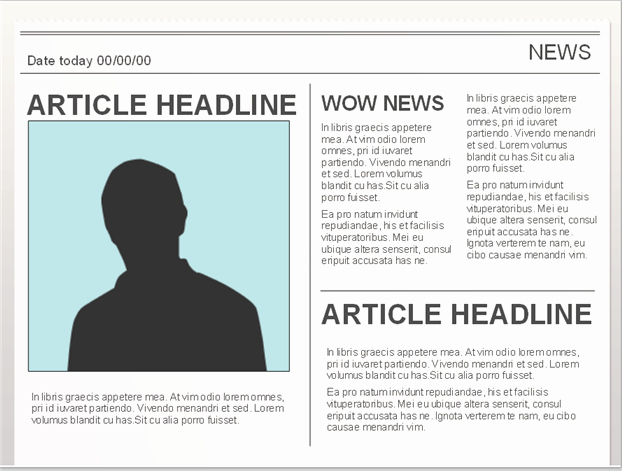 Newspaper Template for Google Docs Inspirational Easy to Edit Google Doc Editable Newspaper Template to