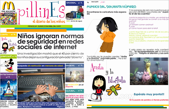 sample kids newspaper