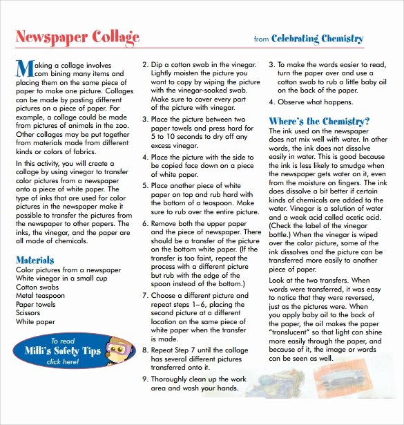 Newspaper Template for Kids Elegant School Newspaper Template 7 Download Documents In Pdf