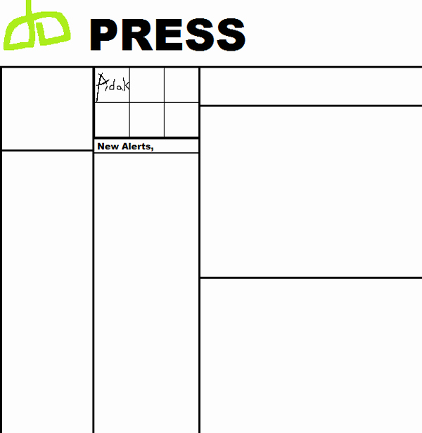 Newspaper Template for Kids Fresh Blank Printable Newspaper Template for Kids