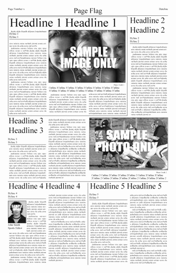 Newspaper Template for Kids Luxury Newspaper Template Free Choose From Indesign Templates Here