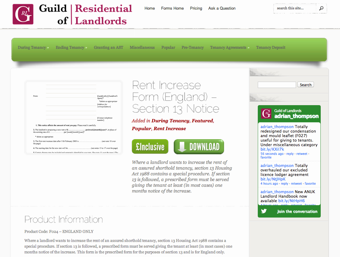 Notice Of Rent Increase form Elegant Ing soon – New Landlord forms Letters and Templates