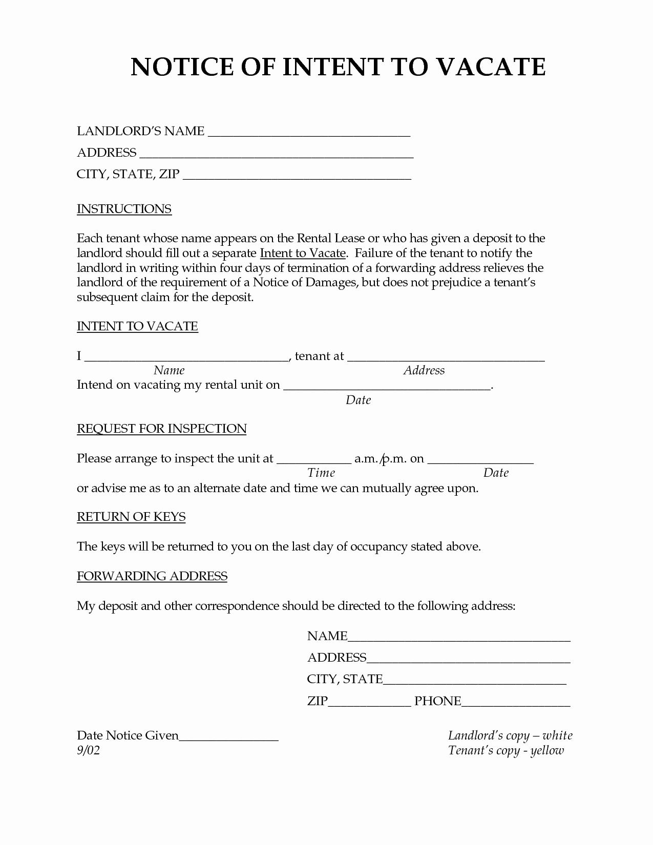 post landlord demand letter
