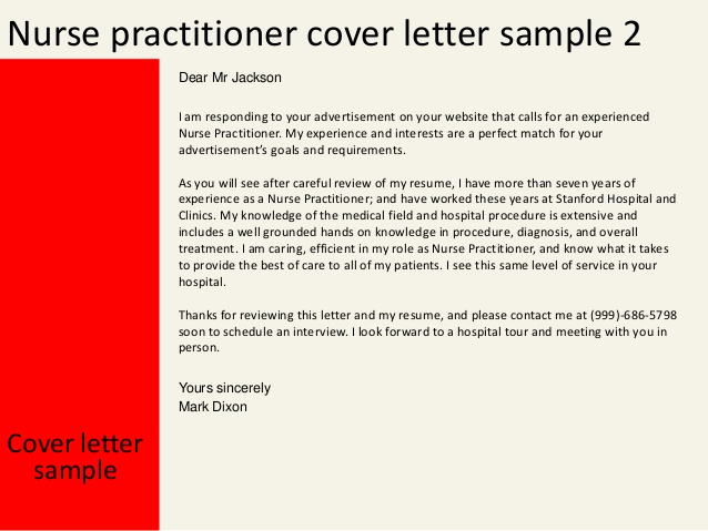 Nurse Cover Letters Examples Awesome Nurse Practitioner Cover Letter