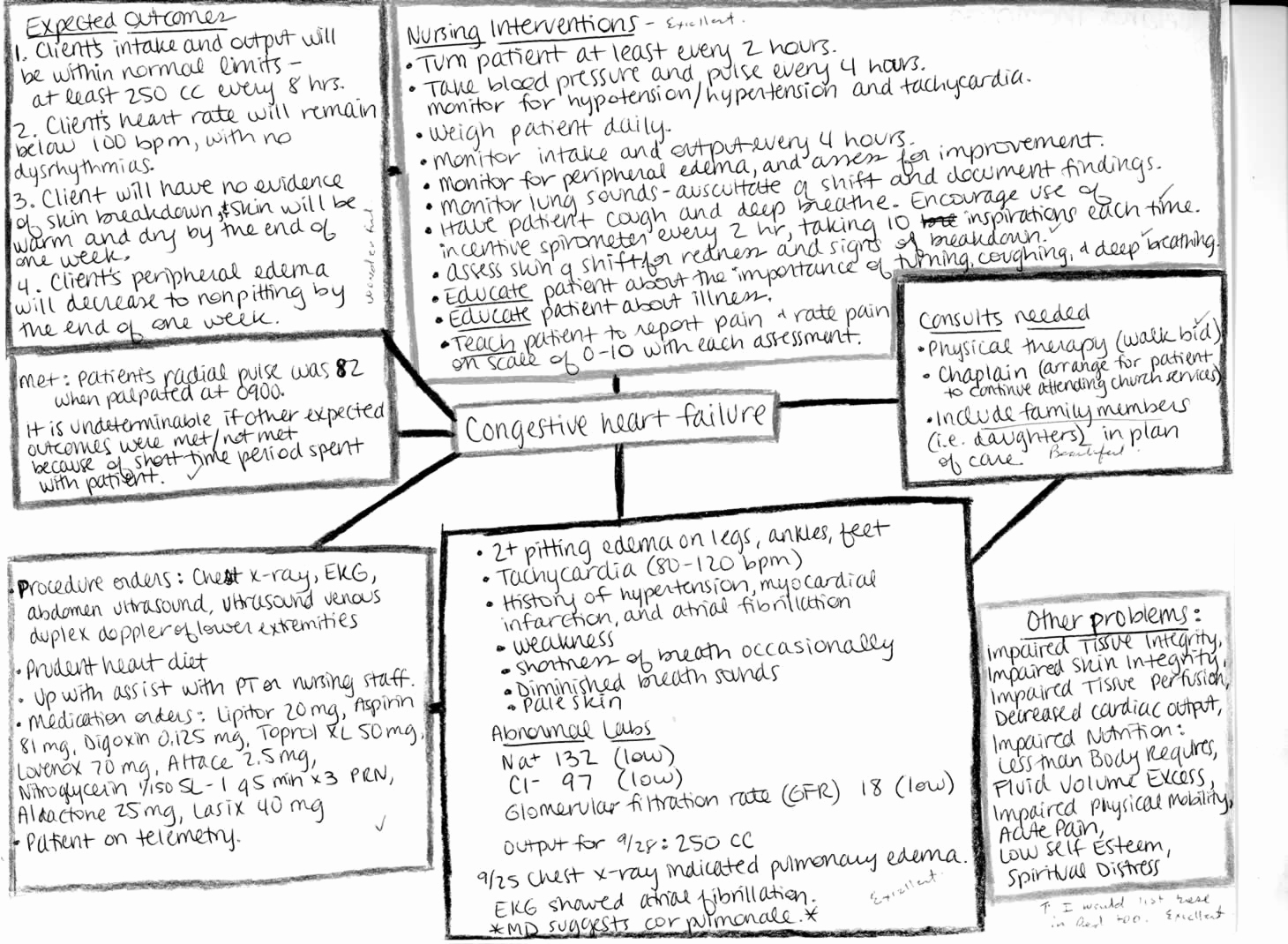 Nursing Concept Mapping Template New Nursing Concept Maps Process