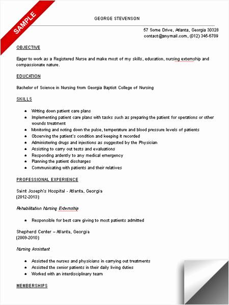 Nursing Student Resume Examples Beautiful Nursing Student Resume Sample Limeresumes