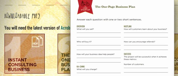 One Page Business Plan Pdf Best Of E Page Business Plan Template