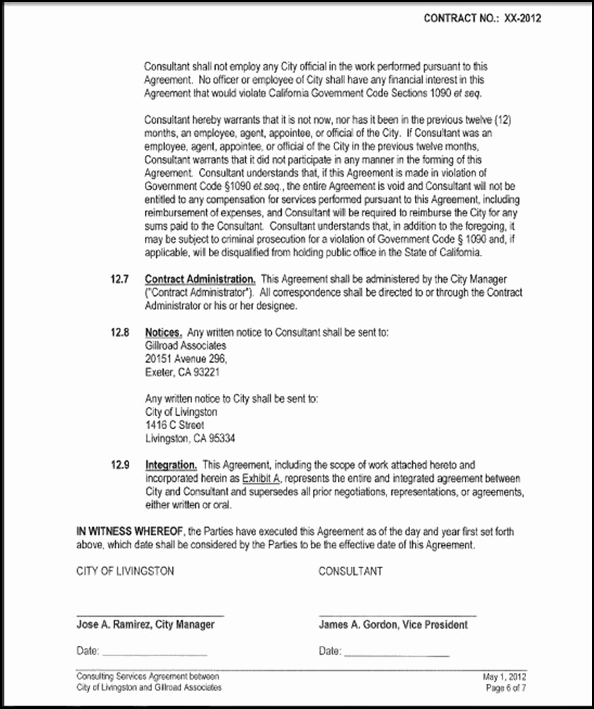 One Page Independent Contractor Agreement Awesome E Year Independent Contractor's Agreement Gillroad