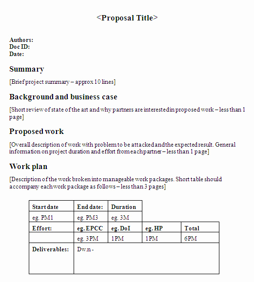 One Page Proposal Template Elegant Essay About Munity Service