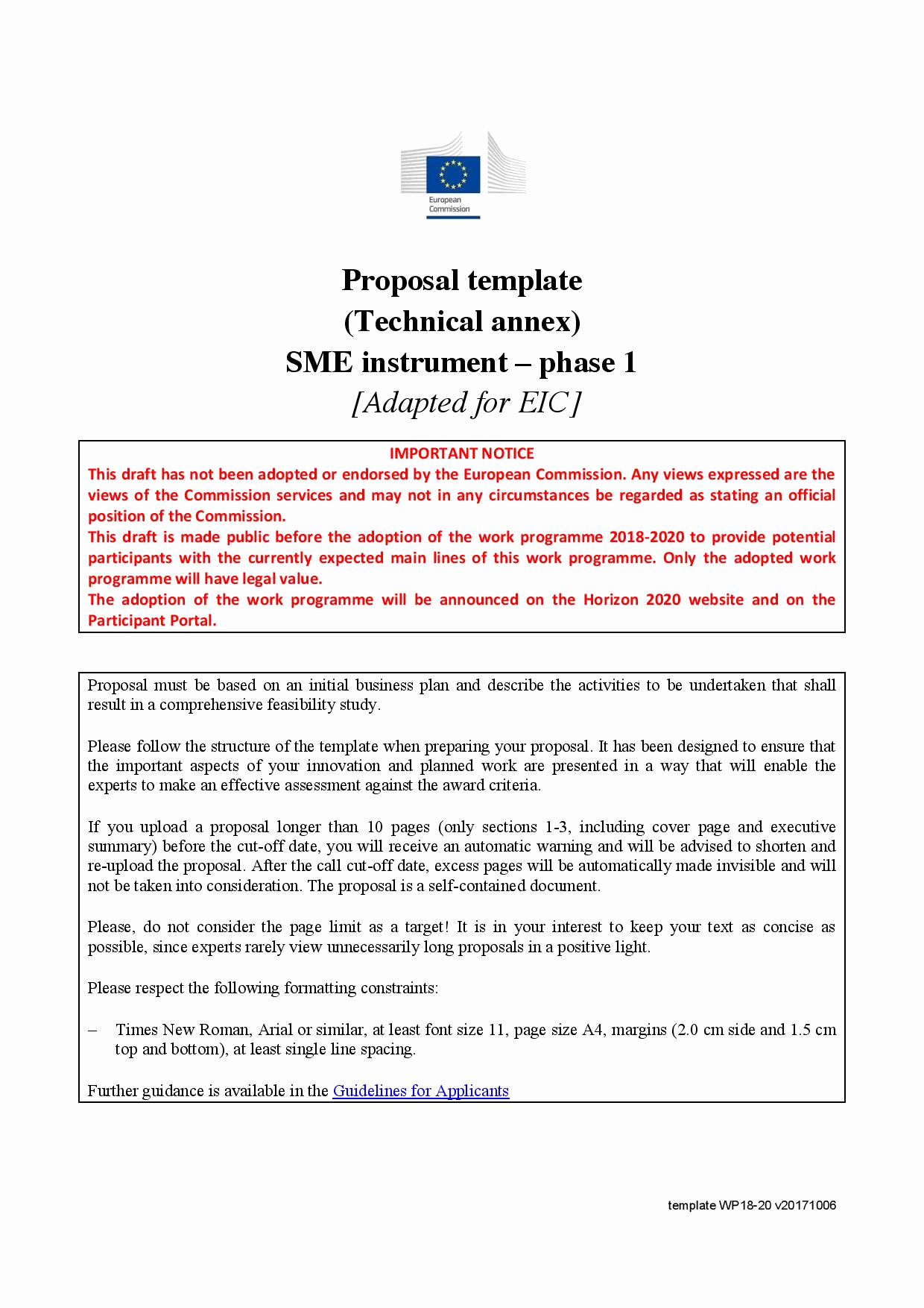 One Page Proposal Template Fresh Pilot Proposal Template