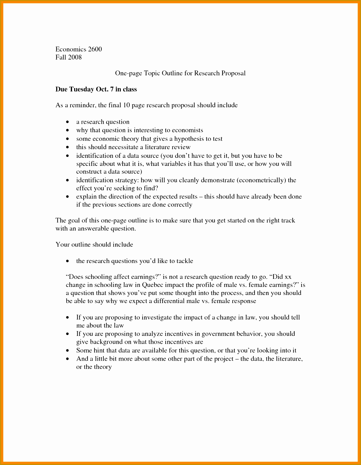 One Page Proposal Template Inspirational 4 E Page Research Proposal Template